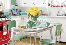 Retro Home / Retro and vintage home furnishings and styled homes