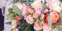 Flower & Bouquet Inspiration / An assortment of arrangments that we love.