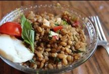 Salads / We love salads! Our Emmer and Einka farro are perfect ingredients too.