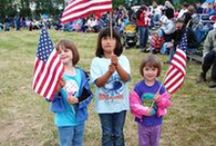 Anchorage 4th of July Events - Go Fourth and Celebrate! / Anchorage, Alaska turns the Last Frontier red, white and blue for the Fourth of July. The city starts our Independence Day celebrations early – and not just because Alaska loves a good party.