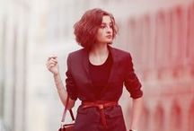 Clémence Damour's chic Parisian style / What Clémence from The Patisserie Mysteries would wear. Her style is easy, classic, and always chic.