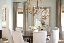 Dining Rooms / Inspirational chairs, tables, & chandeliers.