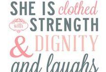 Inspirational sayings!
