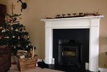 Festive Wood Burning Stoves / Let a wood burning stove add to the Christmas atmosphere in your home