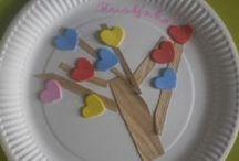 Srdce/heart/coeur/das Herz / nápady na tvoření se srdíčky po celý rok (Den matek, Den otců, Valentýn...)