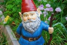 Garden Accessories / Anything elegant, adorable or hilarious to spruce up your garden.