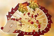 Podzim/Autumn/Fall / inspirace na výtvarné tvoření pro děti / craft for children/ bricolage