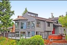 Remodel by Belmark in Mukilteo, WA. / Located at:  10418 Marine View Drive, Mukilteo, WA 98275 Renovated by Belmark LLC. This beautiful home boasts spacious living and dining areas and a stunning gourmet kitchen, new contemporary bathrooms with quartz countertops and elegant tile backsplashe