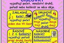 Čeština / pracovní listy