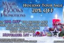 Our Logos, Promotions, & Sales / These pins of Magic of Books Promotions -- magicofbookspromo.blogspot.ca