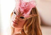 Masque - Loup - Carnaval - Mardi-Gras / Masque et Loup pour enfants et adultes. Pour le Carnaval et Mardi-Gras. Des idées de customisation DIY et des printables. [ Les Ateliers de Laurène ]