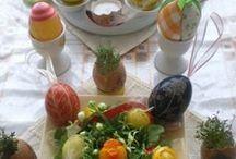Velikonoce/ Easter/ Pages / Pâques/ Pasqua / Па́сха/ das Ostern / výzdoba/ Easter craft - vajíčka, kuřátka, slepičky, kouhoutci, zajíčci