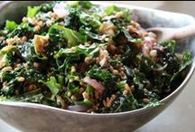 Farro Salads for Summer! / Wonderful whole grain salads with your fresh garden vegetables and fruit.