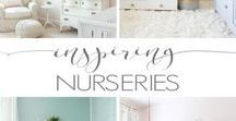 6 Inspiring Nurseries / A compilation of photos from 6 inspiring baby nurseries.