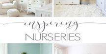 6 Inspiring Nurseries / A compilation of photos from 6 inspiring baby nurseries.
