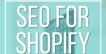 Shopify | Resources for E-commerce / Resources for Shopify and e-commerce sites. Improve your SEO for Shopify with tips and suggestions here.