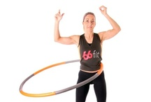 Hula Hoops / Hula Hoops are not only fun to use, they are fantastic for improving your core muscle tone strength and can help with weight loss. The hoops have a padded EVA surface to provide cushioning to the user and have molded bumps on the inner circle. As the bumps move over your abdomen, they apply extra pressure to the area, giving the user an intense workout.