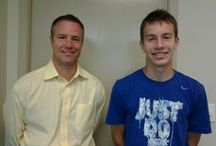 I got my braces off!!! / My first photo after getting my braces off, with my favorite orthodontist, Dr Hunt!!