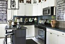 mieszkaniowo | kuchnia eMy / głównie sposoby aranżacji kuchni, rozwiązania dopasowane do małych potrzeb i propozycje stylów