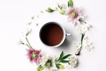 Coffee and Tea  / Warm cup- warm heart