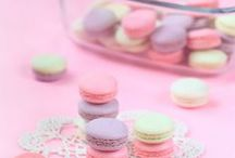 MACARONS: Pastels / Pastel colored macarons / by Jessie Calhoun