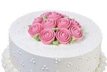 CAKES: Rose  Cakes / by Jessie Calhoun