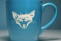 malowanie porcelany | cat lady