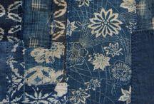 [indigo | denim] / japanese denim or indigo-colored fabrics/items