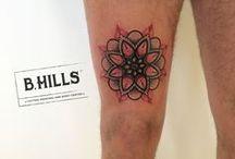 """Dotwork Tattoo / Dotwork Tattoo Realizzati da Lara Toniolo Tattoo Artist """"Lady Oktopus"""", Resident in B-HILLS TATTOO®"""