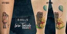 """Cover Up Tattoo / Cover Up Tattoo Realizzati da Lara Toniolo Tattoo Artist """"Lady Oktopus"""", Resident in B-HILLS TATTOO®"""