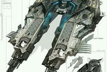 Spaceship concepts / Inspiration