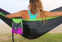 Explore Outfitter Hammocks / PRO Nylon Double Hammock With Free Ropes | Portable Parachute Hammock For Camping, Travel, Outdoors, Backpacking