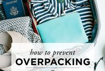 Packing Tips / Everything from how to fit what you need a in a carry-on suitcase to what to pack for your trip.
