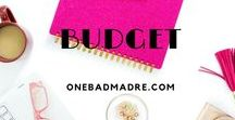 Organization & Budgeting / Budgeting, saving money, finance, organization tips, budget tips, household organization
