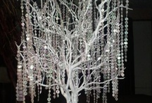 Crystal Trees / Crystal tree ideas for weddings and parties / by Delicate Elegance Events