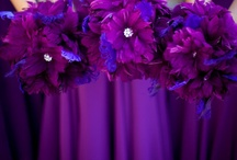 Weddings - Purple Delights / Purple Delights - All dark purple hues and ombre inspirations / by Ronelle Van Rooyen / Delicate Elegance Events