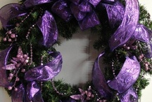 Christmas in pure purple