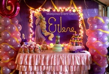 Tangled b-day party