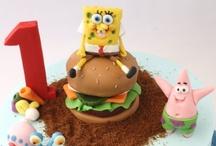 Spongebob b-day party