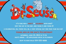 Dr.Seuss b-day party