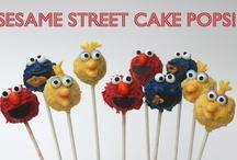 Sesame street b-day party