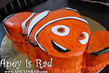 Finding Nemo b-day party