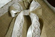 Burlap, Lace & Twine / by Delicate Elegance Events