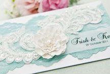 Creative Cards - Lace / by Delicate Elegance Events