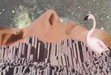 • Surreal • / Collage & mixed media