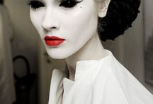 Costumes and make-up.