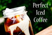 Iced Coffee / Iced coffee recipes for the perfect summer treat <3