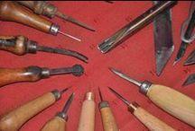 Leatherworking tools -Bőrműves szerszámok