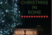Christmas in Rome / Enjoy the lights and foods of Rome during the Christmas holidays!