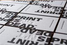 Print :: Drukwerk / Examples of great printwork to inspire you ::  De mooiste druktechnieken om je te inspireren.